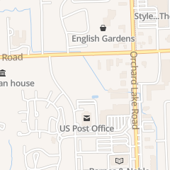 Directions for Associated Food Dealers of MI in West Bloomfield, MI 5779 W Maple Rd