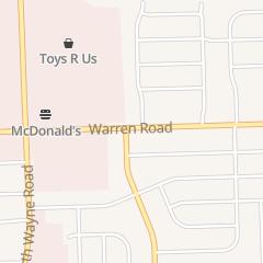 Directions for Slice of the 80's in Westland, MI 34747 Warren Rd