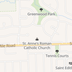 Directions for St Anne's Roman Catholic Church of Redford in Livonia, MI 38100 5 Mile Rd