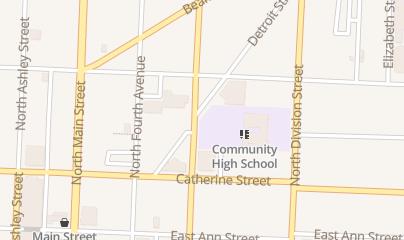 Directions for Zingerman's Delicatessen in Ann Arbor, MI 422 Detroit St
