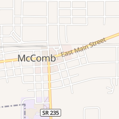 Directions for Mccomb Village Barber Shop in Mc Comb, OH 137 W Main St