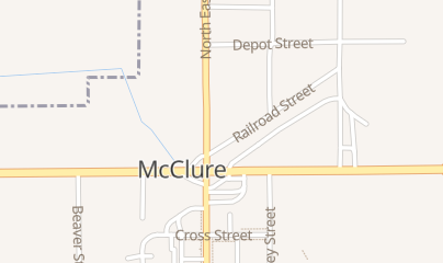 Directions for Snyder's Corner in Mc Clure, oh 702 Railroad St