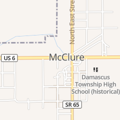 Directions for Fire House Business in Mc Clure, OH 123 Main