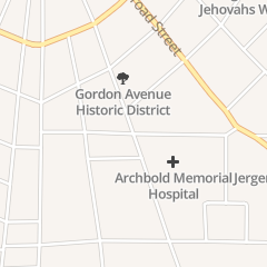 Directions for Archbold Hospital in Thomasville, GA Gordon Avenue At Mimosa Dr