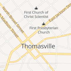 Directions for Gussied Up in Thomasville, GA 130 E Jackson St