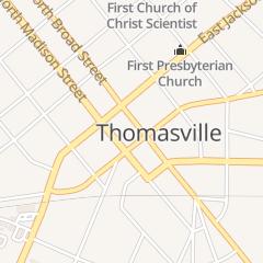 Directions for Dixon AL Mens Wear in Thomasville, GA 124 S Broad St