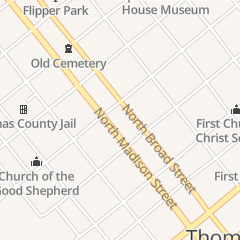 Directions for First United Methodist Church in Thomasville, GA 425 N Broad St
