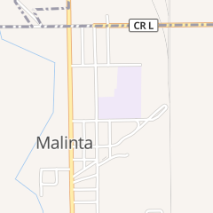 Directions for Malinta-Grelton Branch Library in Malinta, OH 204 N Henry St