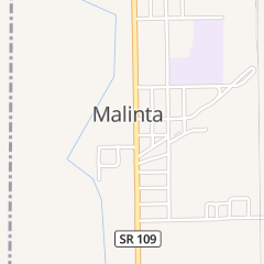Directions for Village of Malinta - Public Ofc in Malinta, OH 103 1/2 N Turkeyfoot Ave