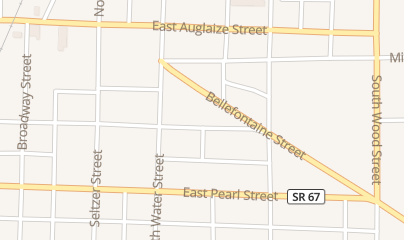 Directions for Auglaize Hair Designs in Wapakoneta, OH 410 W Mechanic St