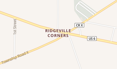 Directions for Larry's 10 Pin Tavern in Ridgeville Corners, OH 20-356 Rd X