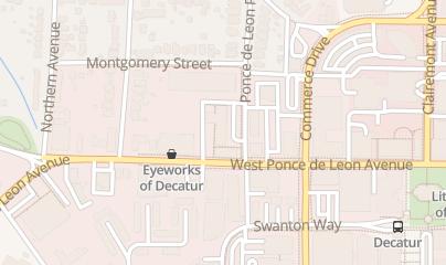 Directions for Conoscienti & Ledbetter, LLC in Decatur, GA 315 W Ponce de Leon Avenue, Suite 400