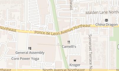 Directions for Model T in Atlanta, GA 699 Ponce DE Leon Ave NE Ste 16