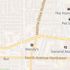 Directions for Sohani Management Company llc in Atlanta, GA 486 Ponce DE Leon Ave NE