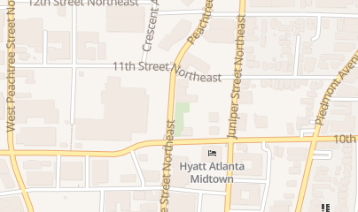 Directions for Reign in Atlanta, GA 1021 Peachtree St NE