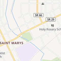 Directions for Denny's Barber Shop in Saint Marys, OH 201 E Spring St