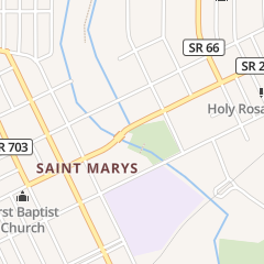 Directions for Scott's Barber Shop in Saint Marys, OH 133 E Spring St