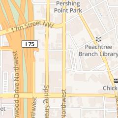 Directions for Four Zero Four Lounge llc in Atlanta, GA 1270 W Peachtree St Nw