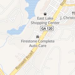 Directions for Firestone Complete Auto Care in Marietta, GA 2075 Roswell Rd