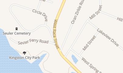 Directions for Kyker Funeral Homes in Kingston, TN 350 W Race St