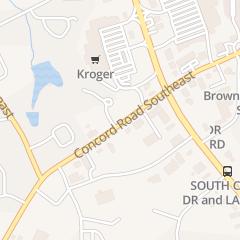 Directions for K Nails in Smyrna, GA 821 Concord Rd Se