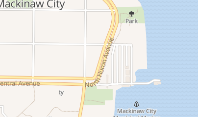 Directions for Nicholas Black River Winery in Mackinaw City, MI 156 S Huron Ave