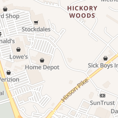 Directions for Allstar Tint & Alarm in Hixson, TN 1948 Northpoint Blvd