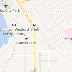 Directions for The Salvation Army in Cadillac, MI 607 S Mitchell St