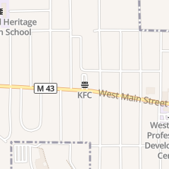 Directions for Kentucky Fried Chicken in Kalamazoo, MI 2026 W Main St
