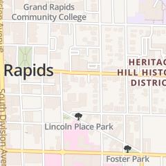 Directions for Design Plus in Grand Rapids, MI 230 Fulton St E