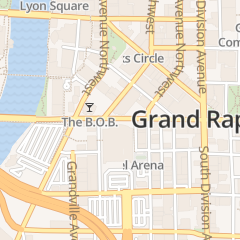 Directions for Fall Out Boy: The M A  N   I    A Tour with Machine Gun Kelly in Grand Rapids, MI 130 Fulton St W