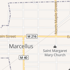 Directions for Drop Anchor Tavern in Marcellus, MI 111 E Main St