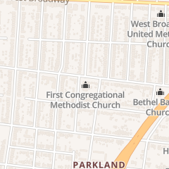 Directions for First Congregational Methodist Church in Louisville, KY 3810 Garland Ave