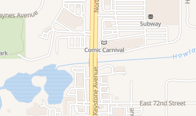 Directions for Comic Carnival - North in Indianapolis, IN 7225 N Keystone Ave Ste B