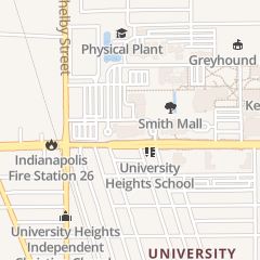 Directions for University of Indianapolis in Indianapolis, IN 1400 E Hanna Ave