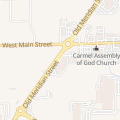 Directions for Bureau of Motor Vehicles DMV in Carmel, IN 12955 Old Meridian St Ste 107
