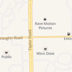Directions for Rave Motion Pictures in Montgomery, AL 7925 Vaughn Rd