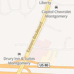 Directions for CARMIKE CINEMAS in MONTGOMERY, AL 1001 n Eastern Blvd