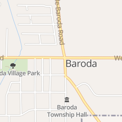Directions for Baroda Tap and Grille in Baroda, MI 8906 First St