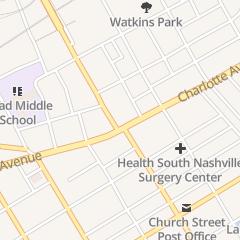 Directions for Expert Spine Care in Nashville, TN 1718 Charlotte Ave