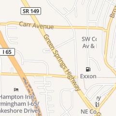 Directions for KFC - Kentucky Fried Chicken in Birmingham, AL 828 Green Springs Hwy
