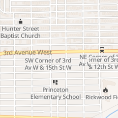 Directions for C & D Nails in Birmingham, AL 1401 3rd Ave W