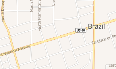 Directions for The Outpost llc in Brazil, IN 2 e National Ave Ste 5