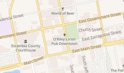 Directions for O'Riley's Irish Pub in Pensacola, fl 321 S Palafox St