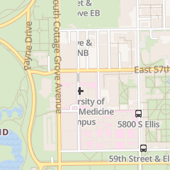 Directions for University of Chicago Physicians Group in Chicago, IL 5721 S Maryland Ave