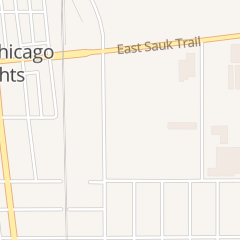 Directions for Marks Movers and Storage Inc in South Chicago Heights, IL 3301 E End Ave
