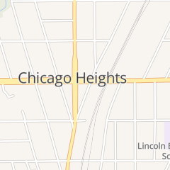 Directions for Uptown Florist in Chicago Heights, IL 1401 S Halsted St