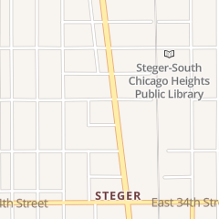 Directions for Steger Flower Shop in Steger, IL 3210 Chicago Rd