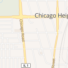 Directions for Professional Pharmacy in Chicago Heights, IL 30 E 15th St Ste 204
