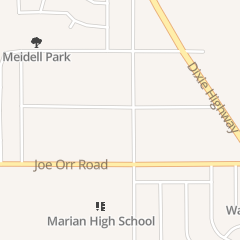 Directions for Robt J Noetzel Dds in Chicago Heights, IL 500 Ashland Ave Ste 21